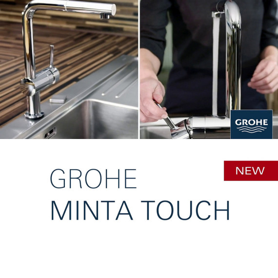 grohe minta touch. Black Bedroom Furniture Sets. Home Design Ideas